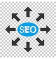 Seo Distribution Icon vector image