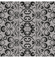 Seamless abstract outline pattern vector image