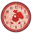 Christmas Clock Face vector image