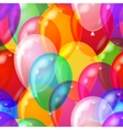 balloon background seamless vector image