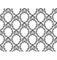 Vintage Baroque pattern background vector image