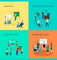 teacher 2x2 design concept vector image
