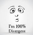 Divergent vector image