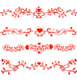 patterns valentines vector image