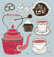 Teatime vector image