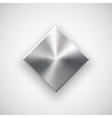 Abstract Rhombic Button Template vector image