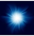 Blue Twirl Background vector image