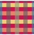 Pink and yellow strips geometric seamless pattern vector image