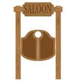doors in western saloon 01 vector image