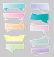 Variety of ribbons banners vector image