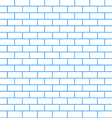 Brick wall background vector image