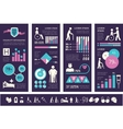 Disability Infographic Template vector image