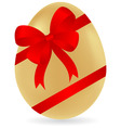 Easter gift vector image