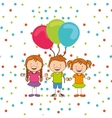 party hobby design vector image