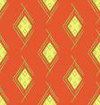 Seamless Orange Red Carpet vector image