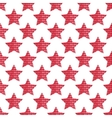 The pattern of the five-pointed star composed of vector image