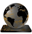 Iron Earth vector image