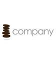stones logo  business company vector image