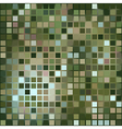 dark green background of small squares vector image