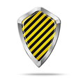 Shield security concept isolated vector image