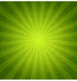 Abstract green grunge background vector image