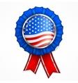American award ribbon vector image