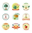 Garden Icon Set vector image
