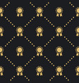 award badge seamless pattern vector image