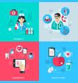 Medicine healthcare services concept vector image