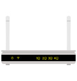 Realistic router vector image