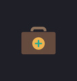 first aid kit computer symbol vector image