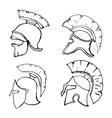 helmets2 vector image