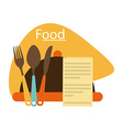 Kitchen elements vector image