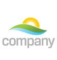 Natural treatment logo vector image