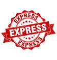Express stamp sign seal vector image
