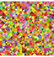 Abstract vintage polygonal background vector image
