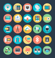 Communication Colored Icons 1 vector image