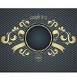 Elegant template frame design for luxury greeting vector image