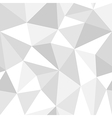 Seamless monochrome polygon pattern from triangles vector image