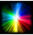 multicolor burst vector image