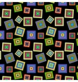 square colorful pattern vector image