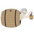 Diogenes Greek philosopher vector image