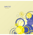 stylish background vector image vector image