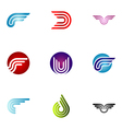 logo design elements set 37 vector image vector image