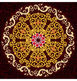 arabesque pattern vector image vector image