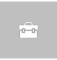 Briefcase computer symbol vector image