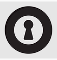 information icon - keyhole vector image