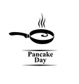 pancake day vector image vector image