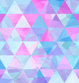 Seamless geometric retro background vector image