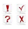 Icon signs symbols vector image